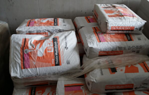 Bags of Plaster